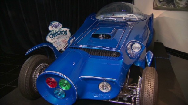 Ed Roth's Orbitron, fully restored after being found in Mexico.
