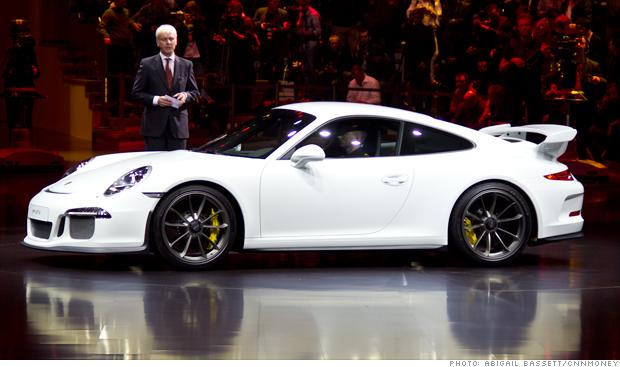 The new Porsche GT3 at the Geneva Motor Show