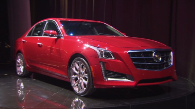 The new Cadillac CTS was unveiled at NYIAS 2013