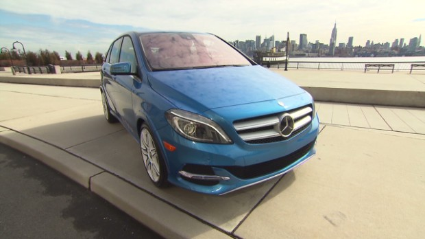 An all electric Mercedes-Benz? It's not far off.