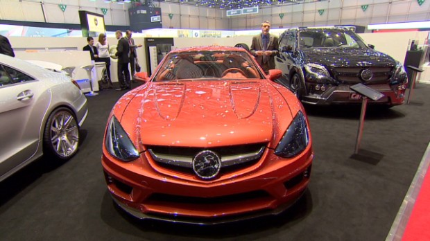 These tuner cars were out of this world at the 2013 Geneva Motor Show.