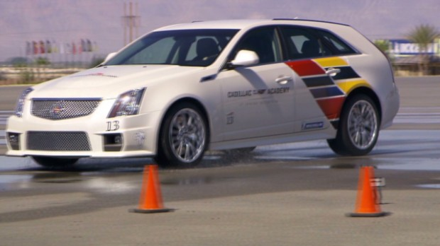 At Cadillac's CTS-V Academy in Pahrump, NV I learned how to handle a car at the limit.