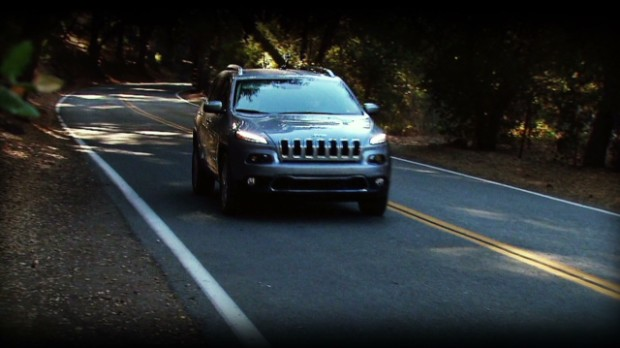 The new Jeep Cherokee takes to the roads