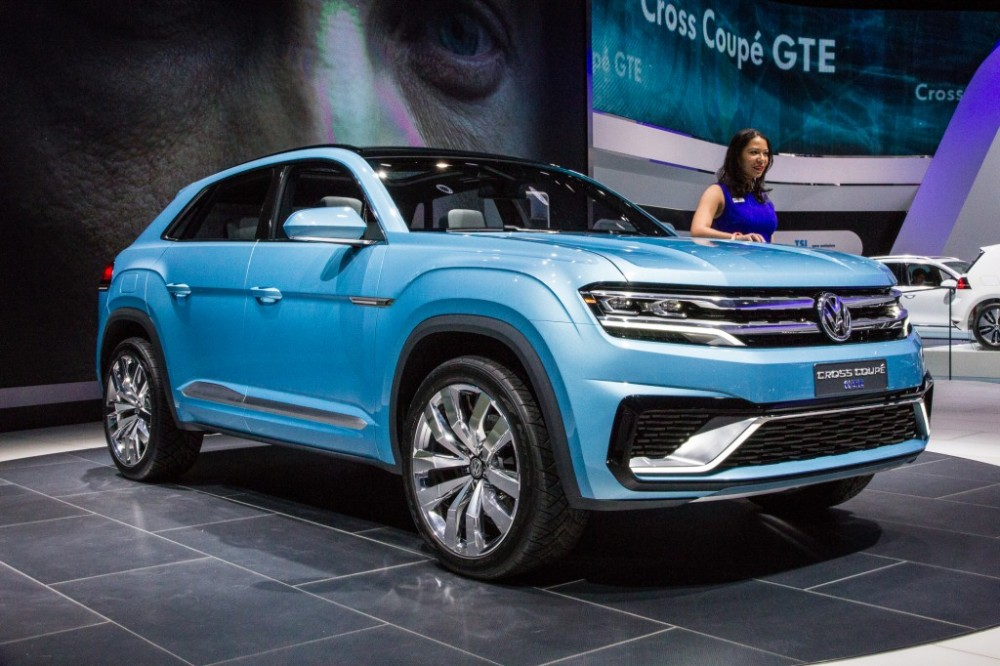 The new VW GTE Cross Coupe Concept-Photo by Nelson Ireson